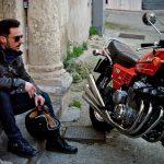 vêtement biker