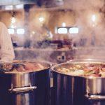 Cuisinier en tablier